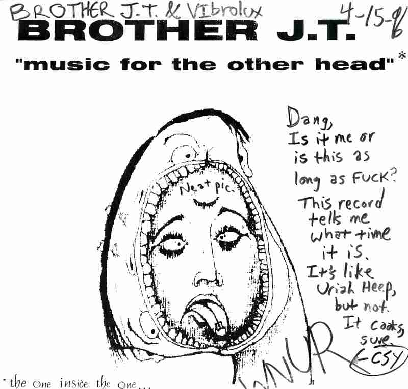 Music For The Other Head<br /><br /> <br /><br />